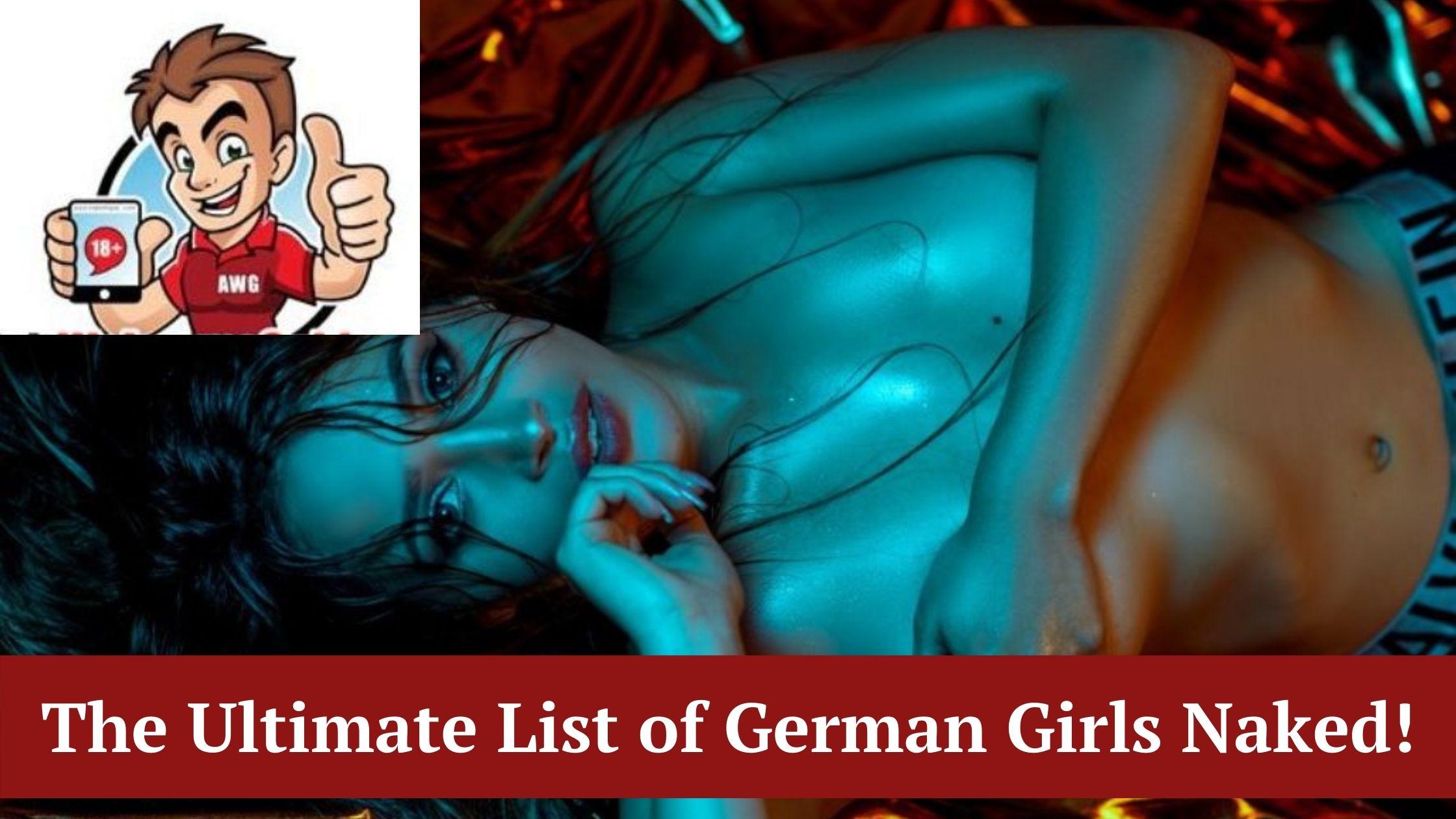 nude german girls